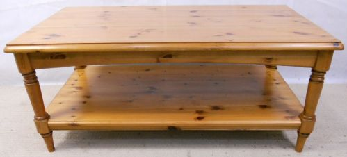 Antique Style Pine Long Coffee Table by Ducal - SOLD